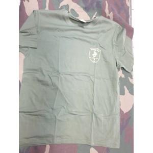 T shirt Comsubin verde oliva