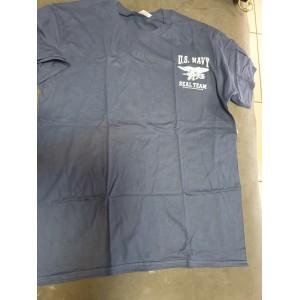 Navy seal tshirt blu